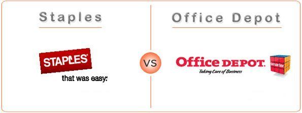 Staples vs Office Depot