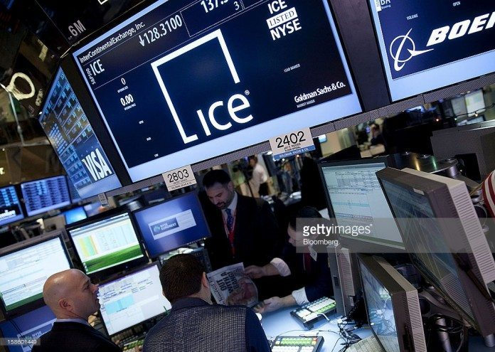 Intercontinental Exchange Inc (NYSE:ICE)
