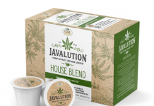 Javalution Hemp Infused Coffee Brand